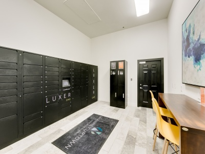 McKinney Uptown Luxer One Package Lockers